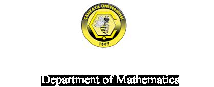 Department of Mathematics Logo